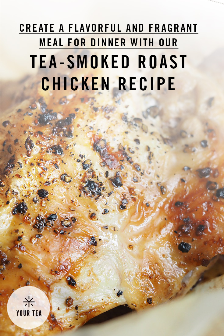 Tea-Smoked Roast Chickens